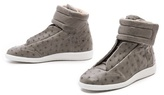 Maison Martin Margiela Ostrich Leather Sneakers