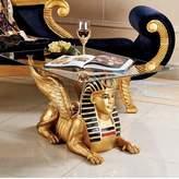 Toscano Egyptian Figurine Coffee Table Design