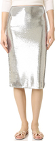 Diane von Furstenberg Sequin Pencil Skirt