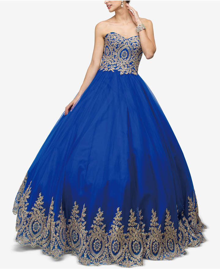 8847c49aa9 Royal Blue Teen Dresses - ShopStyle