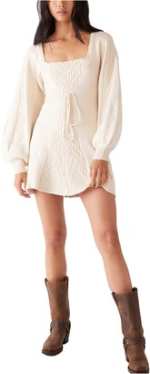 Free People Emmaline Long Sleeve Sweater Dress