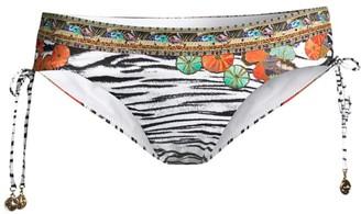 Camilla Ruched Tie Bikini Bottom