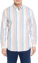 Tommy Bahama Men's Big & Tall Demeter Stripe Sport Shirt