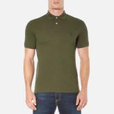 Polo Ralph Lauren Men's Short Sleeve Custom Fit Polo Shirt Alpine Heather
