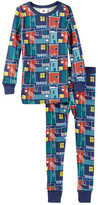 Tea Collection La Boca Barrio Pajama Set (Toddler, Little Boys, & Big Boys)
