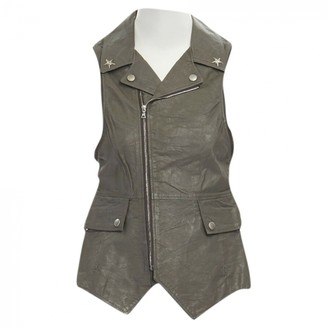Undercover Grey Leather Jackets
