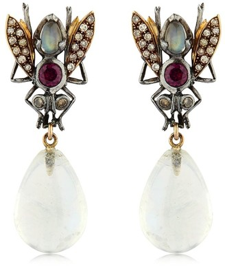 Sylvie Corbelin Paris Fly Earrings