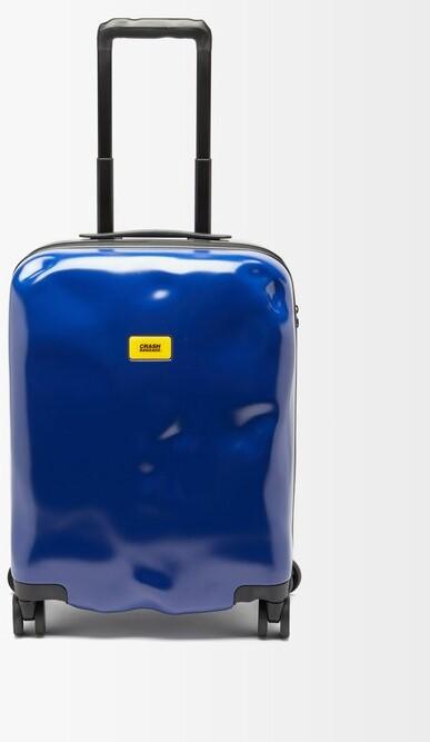 CRASH BAGGAGE Icon 55cm Cabin Suitcase - Blue