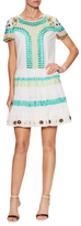 Temperley London Cotton Embroidered Flared Dress