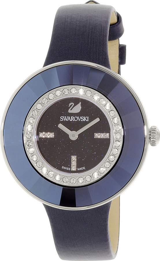 Swarovski Women's 5080508 Leather Swiss Quartz Watch