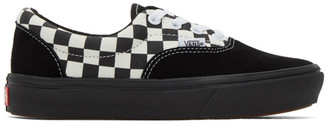 Vans Black and White Mixed Media ComfyCush Era Sneakers