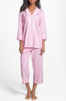 Lauren Ralph Lauren Women's Knit Crop Pajamas