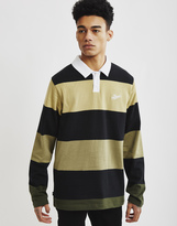 The Hundreds Budrow Long Sleeve Polo Black