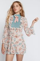 For Love & Lemons Blossom Long Sleeve Mini Dress by at Free People