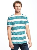 Old Navy Soft-Washed Space-Dye Stripe Tee for Men