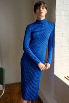 Boutique Directional ribbed dress