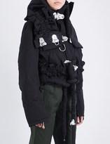 Craig Green Padded cotton-blend puffer jacket