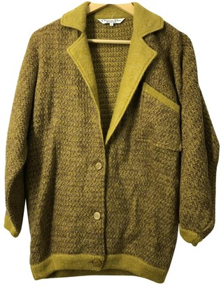 Christian Dior Yellow Knitwear for Women Vintage
