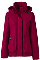 Lands' End Women's Outrigger Fleece Lined Jacket-Crimson Currant