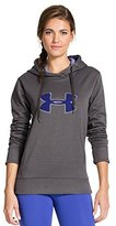 Under Armour Women's UA Storm Armour® Fleece Big Logo Hoodie Carbon Heather