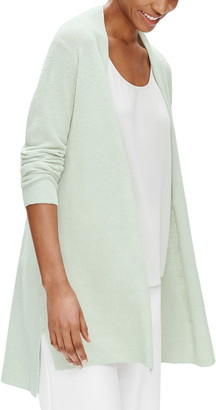 Eileen Fisher Organic Linen Blend Long Cardigan