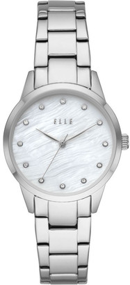 Elle Molitor Silver-Tone Analogue