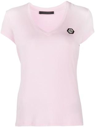 Philipp Plein Comfort logo patch T-Shirt
