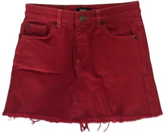 Urban Outfitters Red Denim - Jeans Skirt for Women