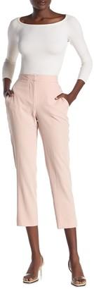 BCBGMAXAZRIA Cropped High Rise Pants