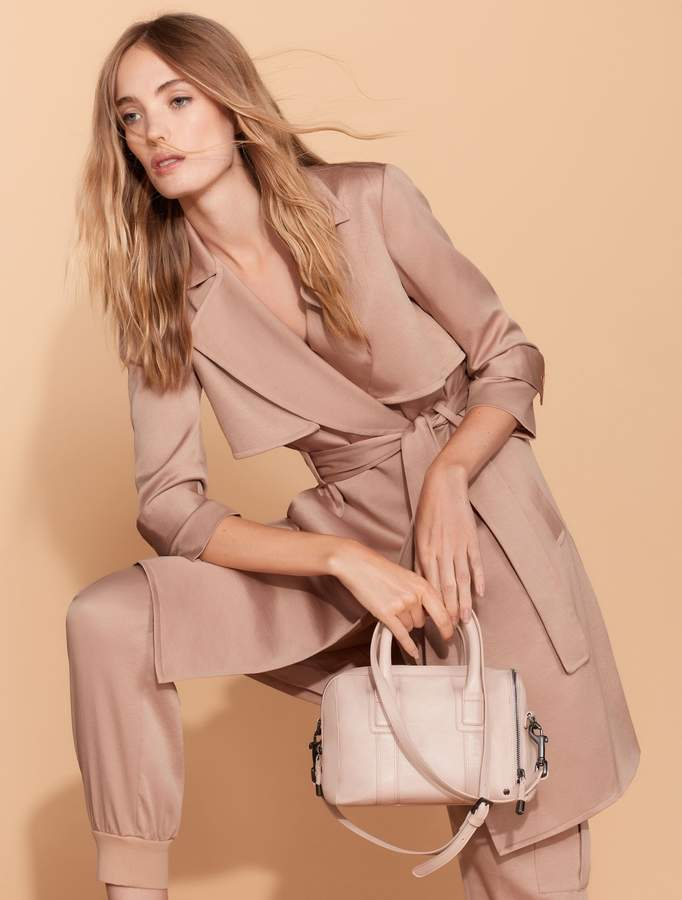 Halston Trench Shirtdress