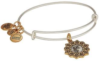 Alex and Ani Two-Tone Zodiac Bangle (Aries) Bracelet