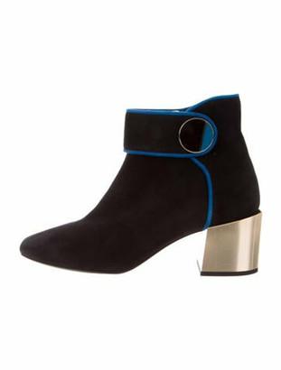 Lanvin Suede Boots Black