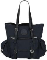 DSQUARED2 Military Waxed Cotton Canvas Tote Bag