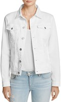 Hudson Denim Jacket in White