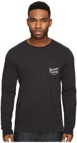 Brixton Maverick Long Sleeve Pocket Tee