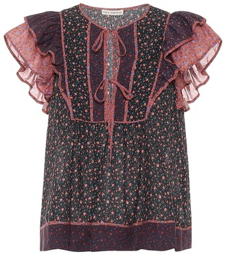 Ulla Johnson Cora cotton-blend top