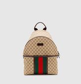 Gucci original GG canvas backpack