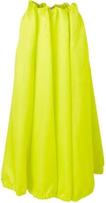 Nina Ricci Long satin skirt