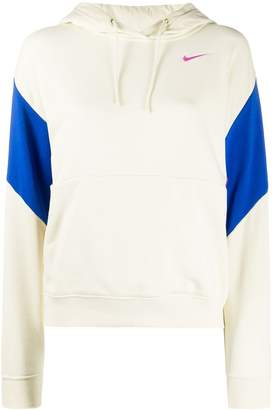 Nike colour-block relaxed-fit hoodie