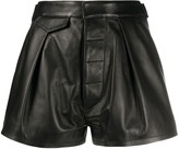 DSQUARED2 high-waisted short shorts