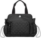 Moncler Mommy Nylon Diaper Bag, Black