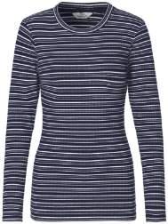 Mads Norgaard Grey Blue Cool Stripe Tuba T Shirt - L - Grey/Blue