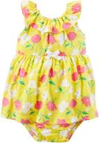 Carter's Baby Girls Floral Sunsuit