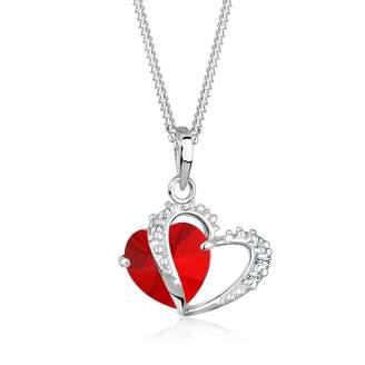 Red Heart Pendant Shopstyle Uk