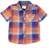Cherokee Plaid Short Sleeve Shirt