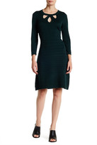 Nine West Cutout Knit Dress