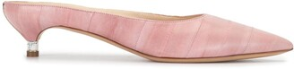 Gabriela Hearst Embossed Style Low Heel Ballerinas