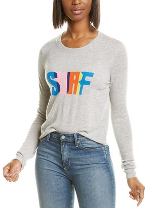Autumn Cashmere Surf Intarsia Cashmere Sweater