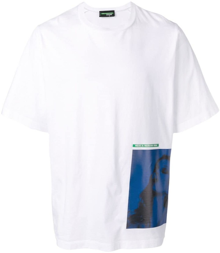 DSQUARED2 printed patch T-shirt