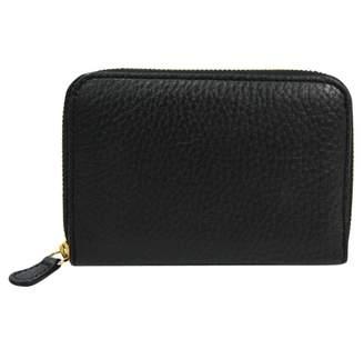 J&M Davidson J & M Davidson Black Leather Wallets